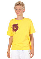 BURTON KIDS/ Boys Dissolve S/S T-Shirt gold medal