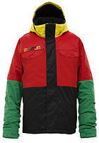 BURTON KIDS/ Boys Fray Jacket cardinal colorblock