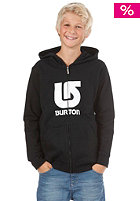 BURTON KIDS/ Boys Logo Vert FZ Hooded Sweat true black