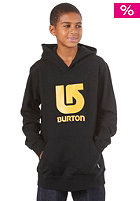 BURTON KIDS/ Boys Logo Vert PO Hooded Sweat true black
