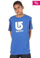 BURTON KIDS/ Boys Logo Vertical S/S T-Shirt royal