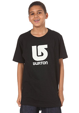 BURTON KIDS/ Boys Logo Vertical S/S T-Shirt true black