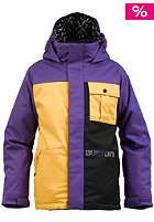 BURTON KIDS/ Boys Sludge Jacket sizzurp/true black/saffron