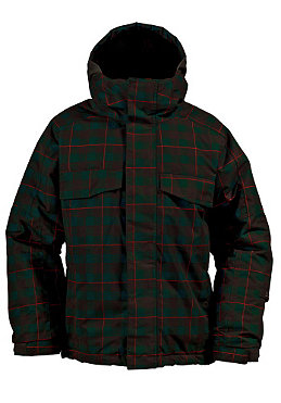 BURTON KIDS/ Boys TWC Bit O Heaven Jacket 2011 storm kingdom plaid