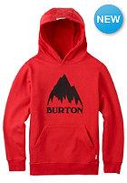 BURTON Kids Classic Mountain Hooded Sweat fiery red