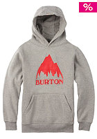 BURTON Kids Classic Mountain Hooded Sweat gray heather