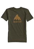 BURTON Kids Classic Mountain Repeat S/S T-Shirt olive night heather
