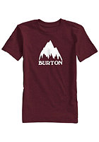 BURTON Kids Classic Mountain Repeat S/S T-Shirt zinfandel heather