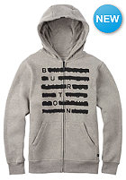 BURTON Kids Crossed Hooded Zip Sweat gray heather