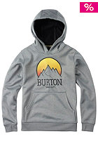 BURTON Kids Crown Bnd Hooded Sweat monument heather