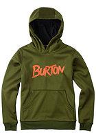 BURTON Kids Crown Bnd Hooded Sweat rifle green heather