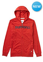 BURTON Kids CST Maxwell FZ Hooded Zip Sweat heather cardinal