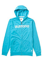 BURTON Kids CST Maxwell FZ Hooded Zip Sweat heather gulfstream