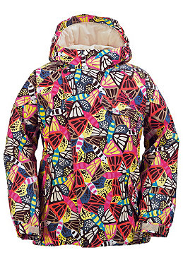 BURTON KIDS/ Girls Perception Jacket 2009 butterfly print
