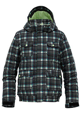 BURTON KIDS/ Girls Twist BMR Jacket true black candy plaid