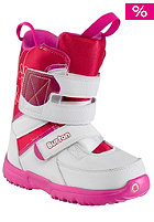 BURTON Kids Grom Boot white/pink