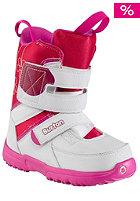 BURTON Kids Grom white/pink