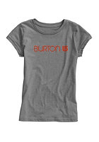 BURTON Kids Her Logo S/S T-Shirt gray heather