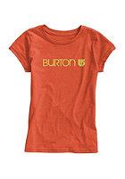 BURTON Kids Her Logo S/S T-Shirt nasturtium heather