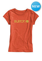 BURTON Kids Her Logo S/S T-Shirt nasturtium heather