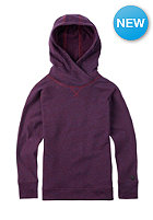 BURTON Kids Hixon Hooded Sweat zinfandel heather