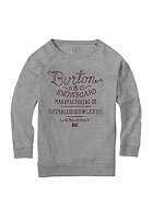 BURTON Kids Hndst Lsslchy Sweat gray heather