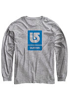 BURTON Kids LG Vertical Fill Longsleeve gray heather
