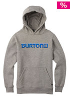 BURTON Kids Logo Horizontal Hooded Sweat gray heather