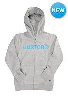BURTON Kids Logo Horizontal Hooded Sweat gray heather