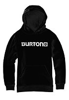 BURTON Kids Logo Horizontal Hooded Sweat true black