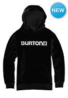 BURTON Kids Logo Horizontal Hooded Sweat true black