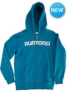 BURTON Kids Logo Horizontal Hooded Zip Sweat cerulean