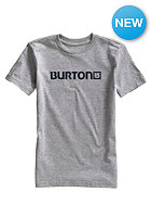 BURTON Kids Logo Horizontal S/S T-Shirt gray heather