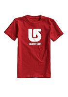 BURTON Kids Logo Vert S/S T-Shirt fiery red