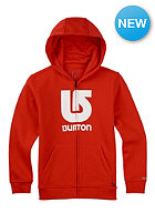 BURTON Kids Logo Vertical fiery red