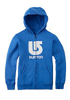 BURTON Kids Logo Vertical Hooded Zip Sweat brooke