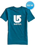 BURTON Kids Logo Vertical S/S T-Shirt heather cerulean