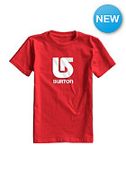 BURTON Kids Logo Vertikal S/S T-Shirt fiery red