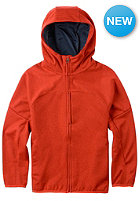BURTON Kids Mountain Chill Hooded Zip Sweat flame