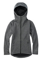 BURTON Kids Negani Fleece Jacket true black heather