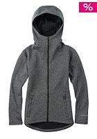 BURTON Kids Negani Fleece Jacket true black heather