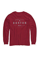 BURTON Kids Numeral Longsleeve chili pepper