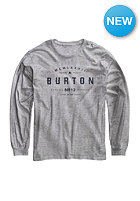 BURTON Kids Numeral Longsleeve gray heather