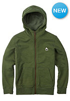 BURTON Kids Roe Hooded Sweat rifle green heather