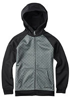 BURTON Kids Scoop Hooded Zip Sweat monument mini dot