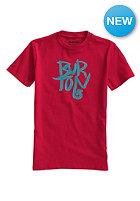 BURTON Kids Stacked S/S T-Shirt cardinal