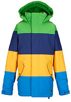 BURTON Kids Symbol Jacket c-prompt/d sea/ylky