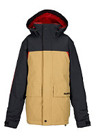 BURTON Kids TWC Headliner Jacket true black/cork/fang