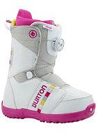 BURTON Kids Zipline Boa Boots white/gray/pink