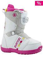 BURTON Kids Zipline white/gray/pink